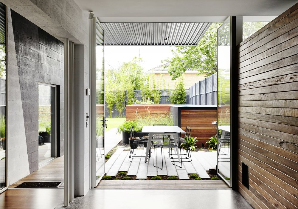 modernist australian house - maynard archtects - terrace