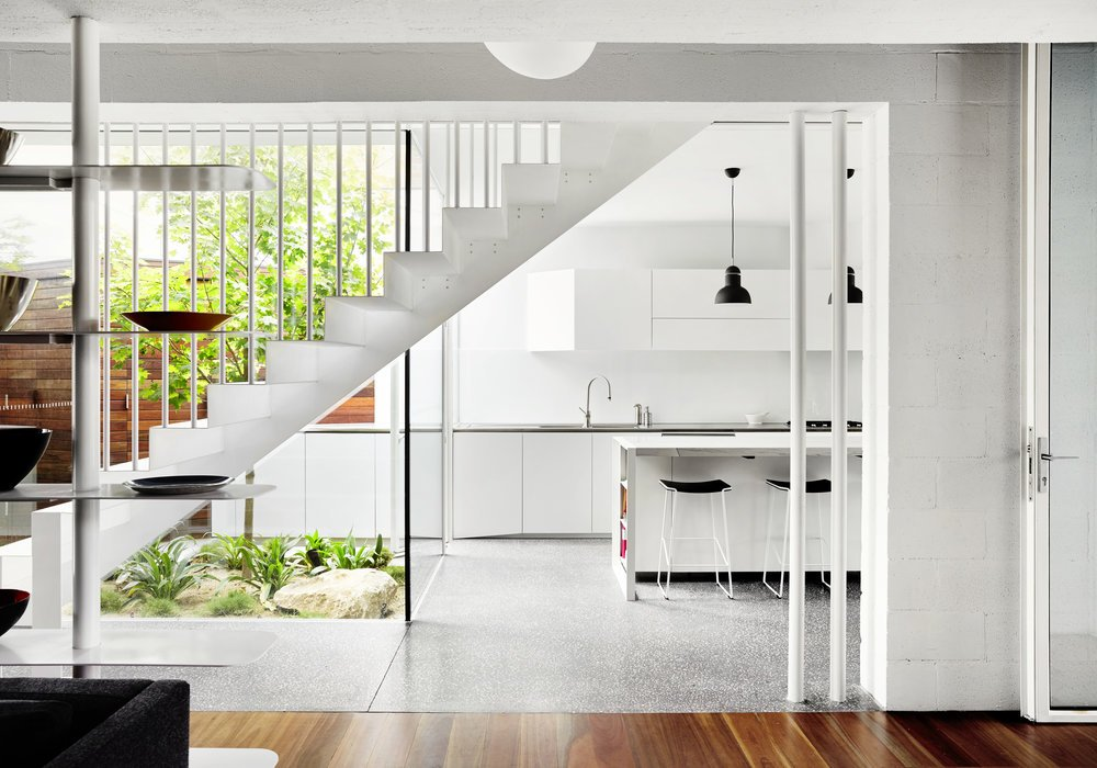 modernist australian house - maynard archtects - kitchen