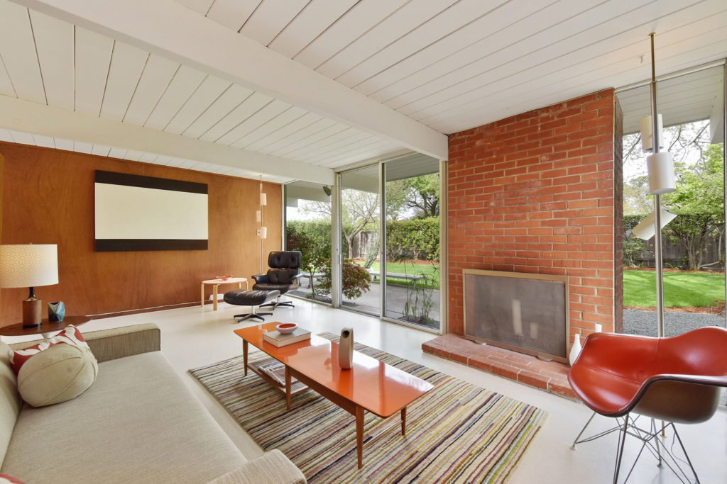 Eichler in Walnut Creek California - living