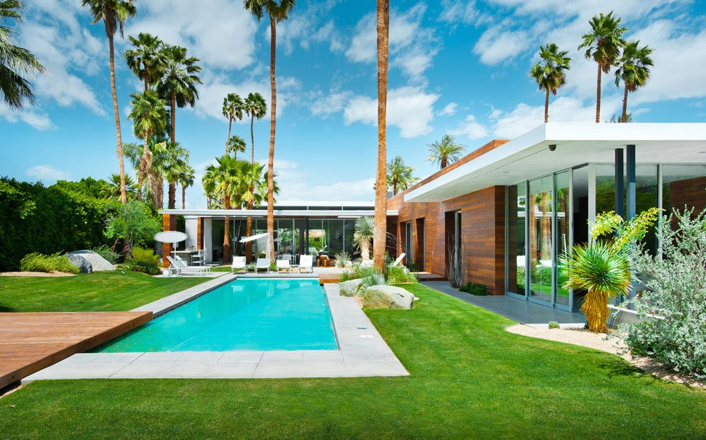 AR&D architects - F5 Residence - exterior pool day light 2