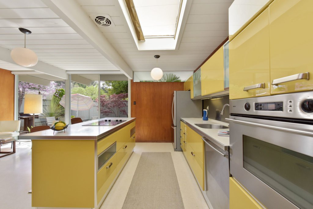Eichler in Walnut Creek California - kitchen