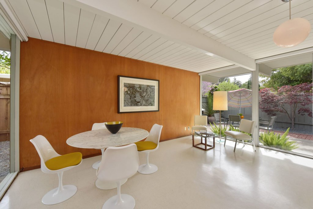 Eichler in Walnut Creek California - dining area