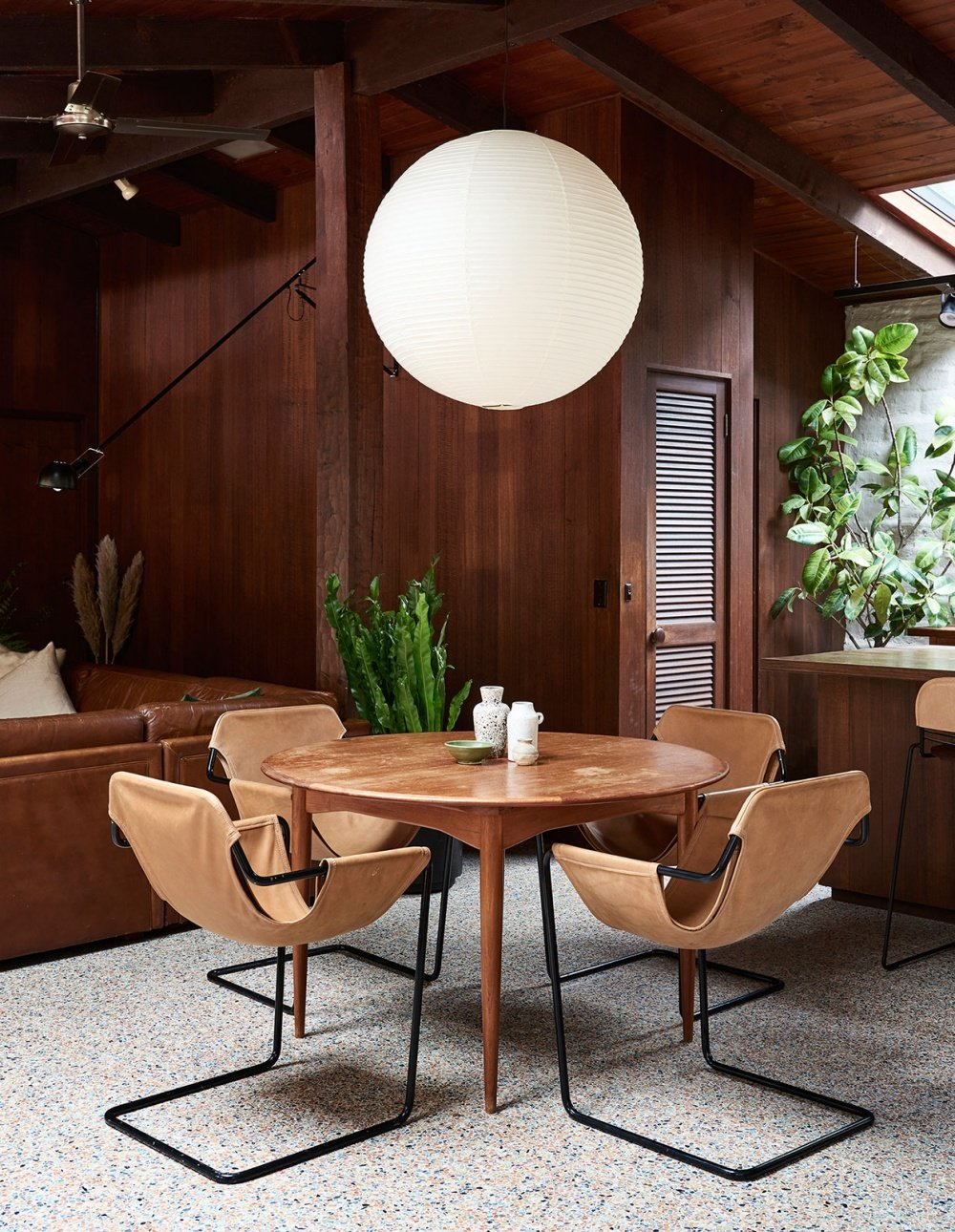 mid century modern Warrandyte Home - dining area 2