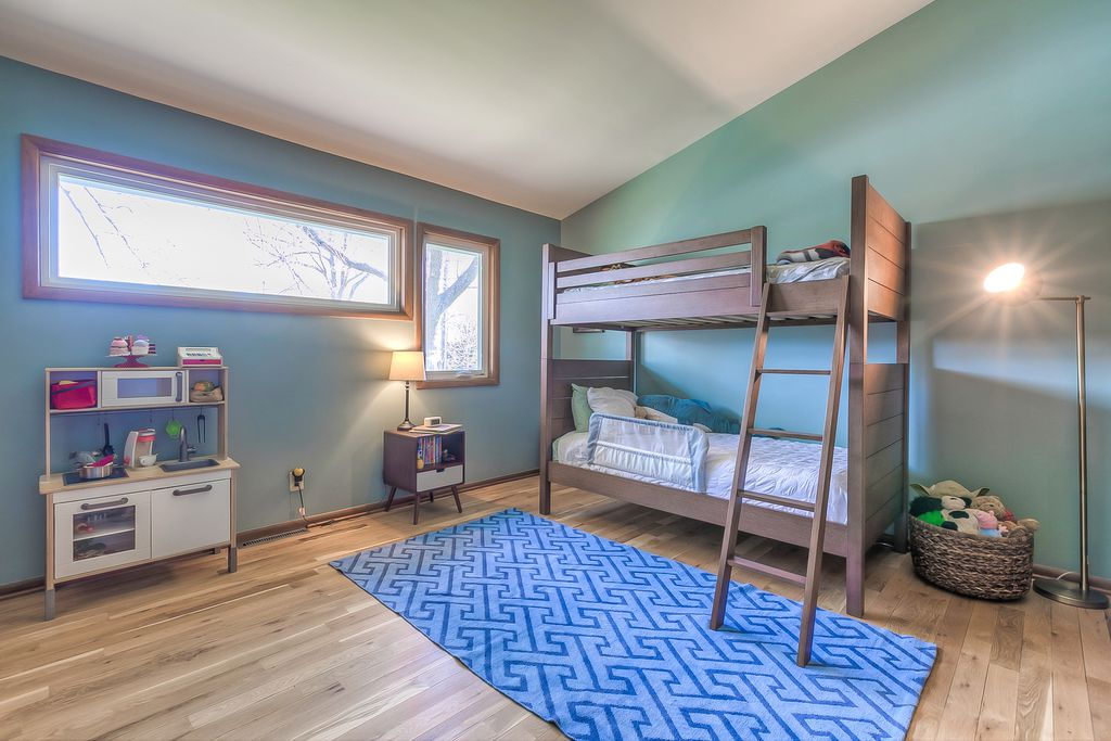 Mid century in kansas city - kids room