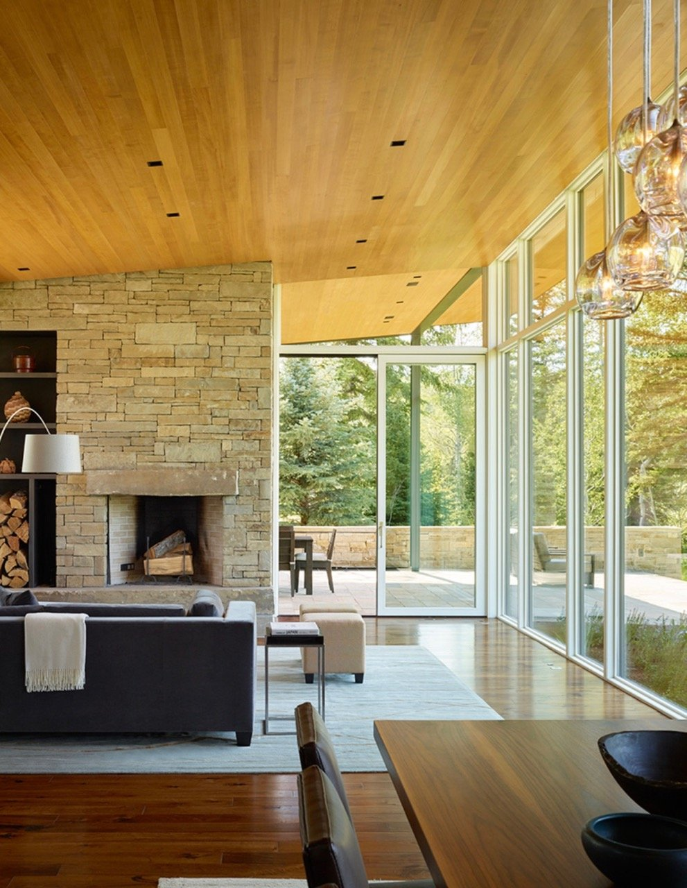 JD2 Residence - Carney Logan Burke Architects - living room