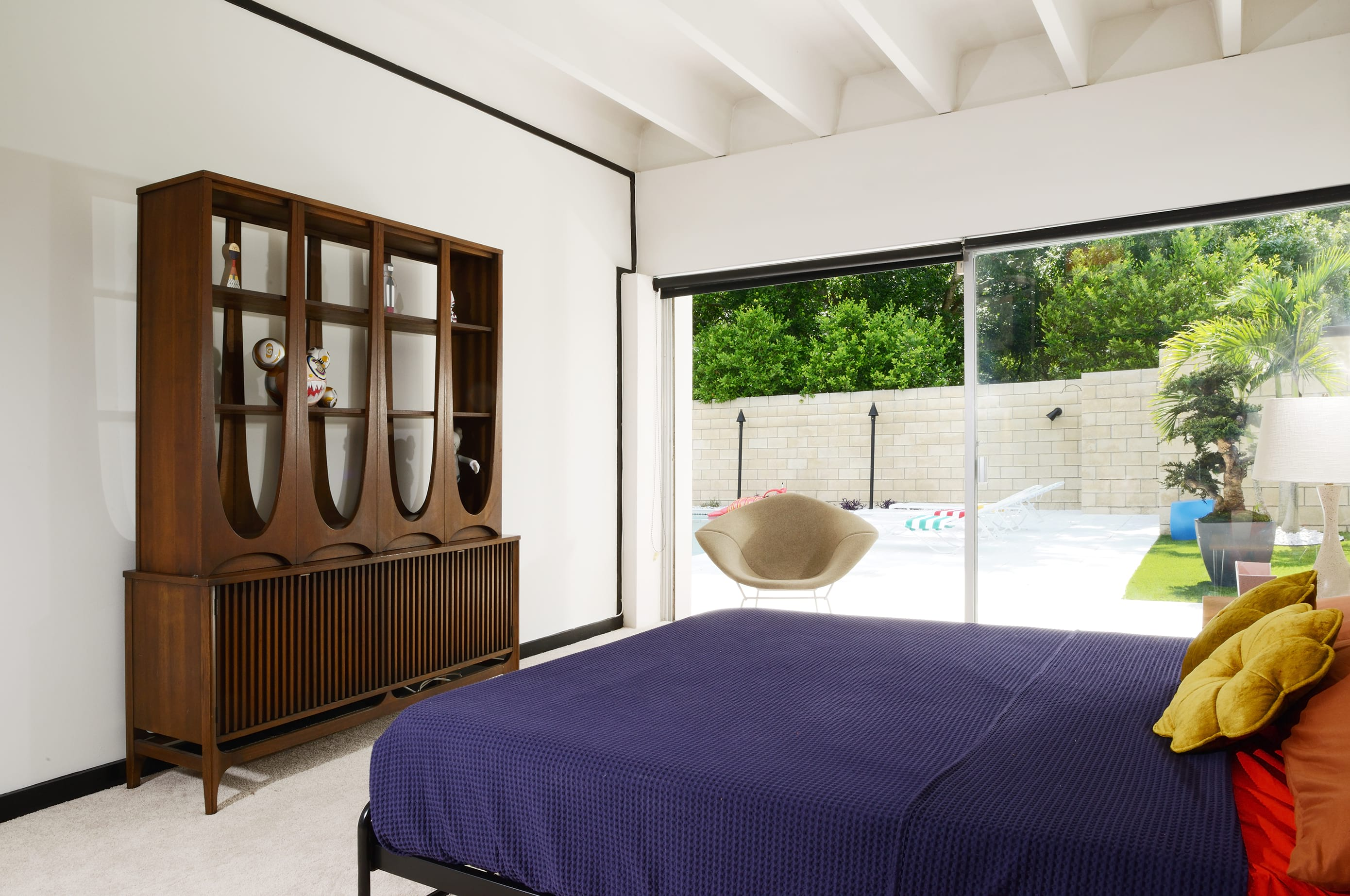 Christopher florentino - midcentury home Florida - bedroom