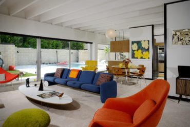 Christopher florentino - midcentury home Florida - living room