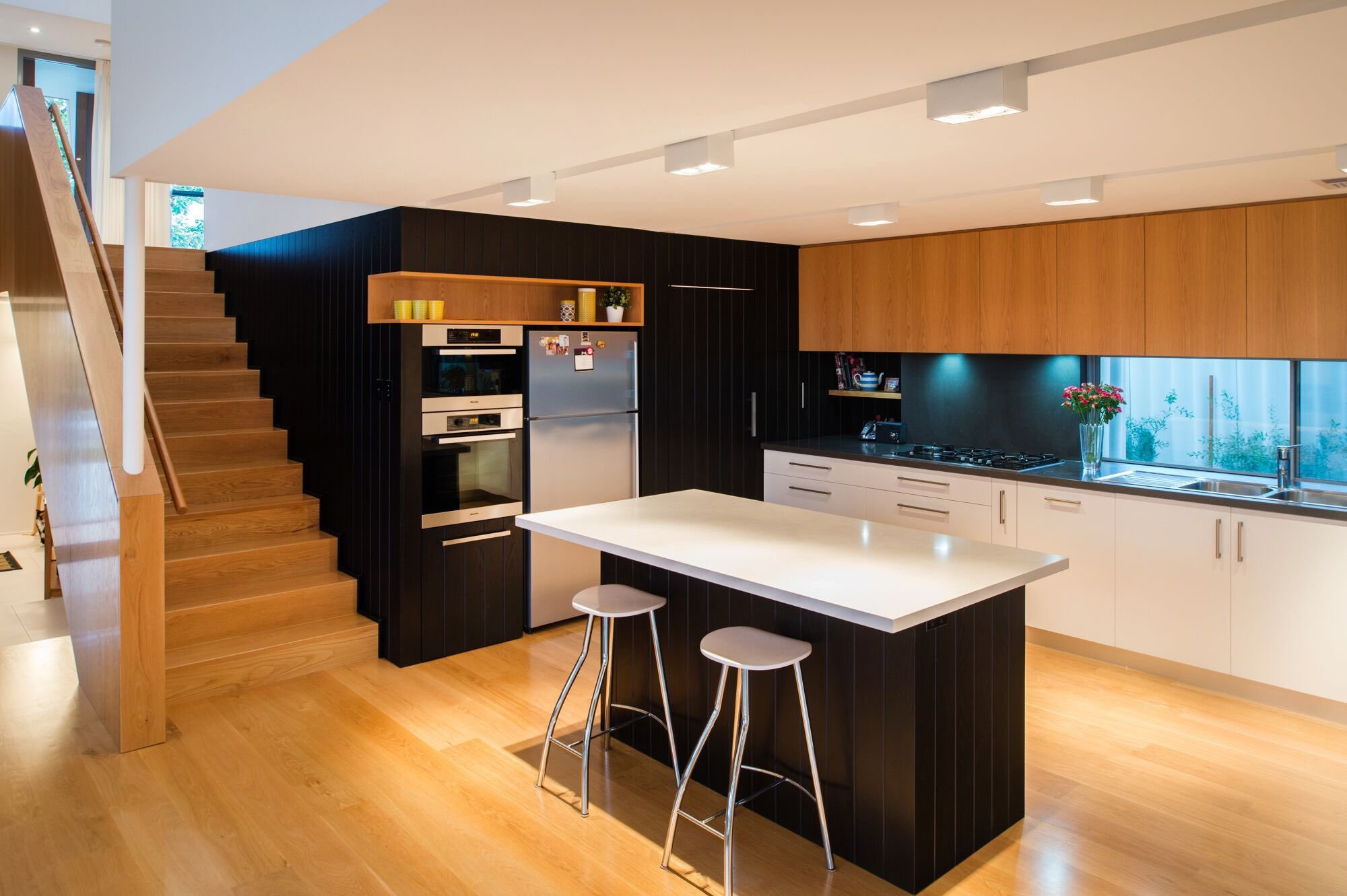 Modern home - moreing rd - mountford architects - kitchen
