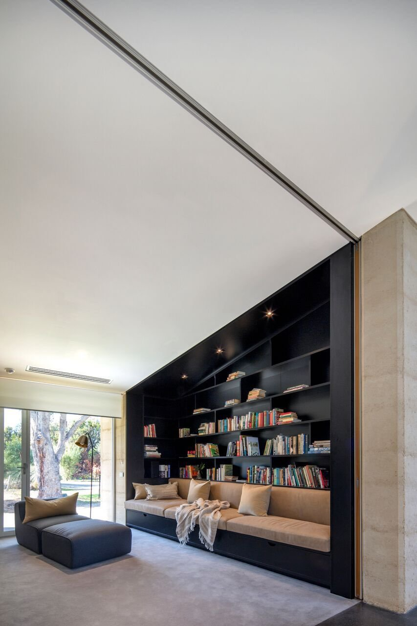 Modern House - Bartram RD - Mountford Architects - relax area