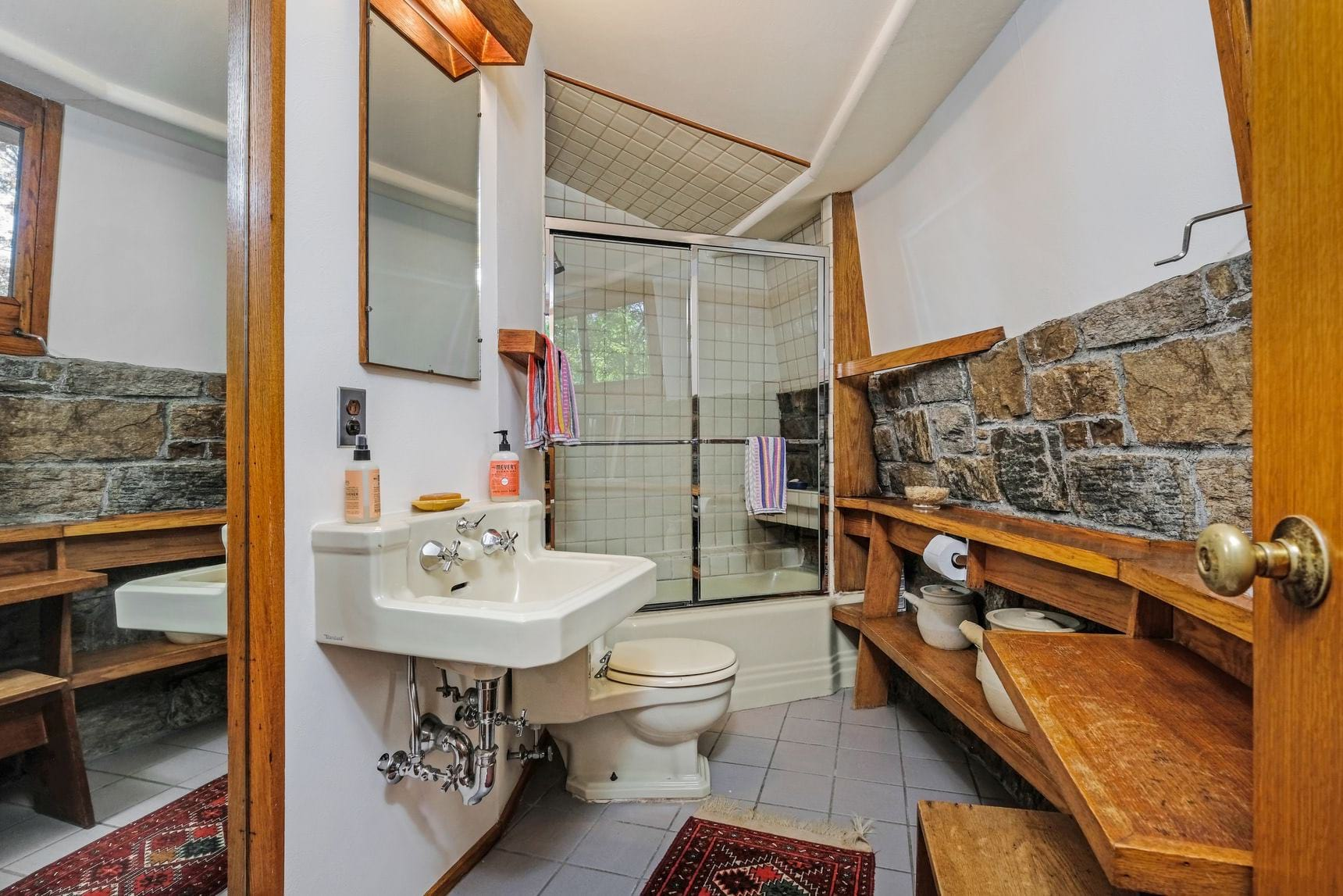 Frank Lloyd wright - sol Friedman house - toilet