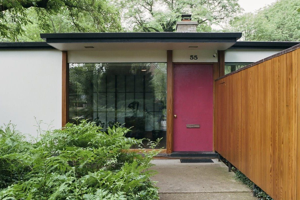 Alexander Girard residence In Michigan - Exterior front