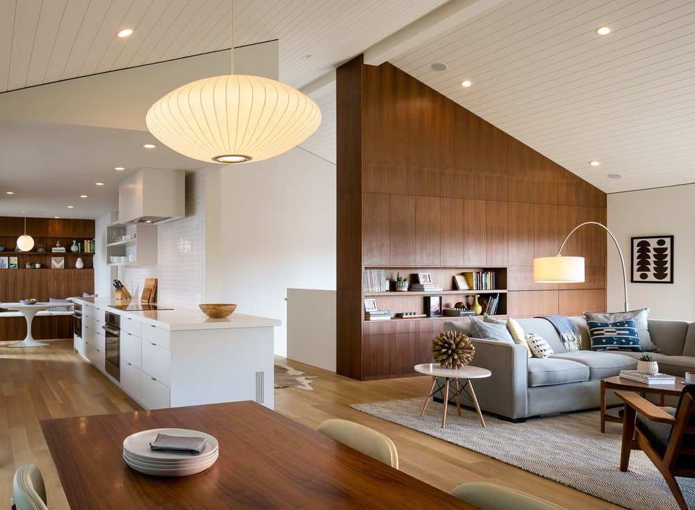Paseo Way Modern Rsidence - Building Lab architects - living room