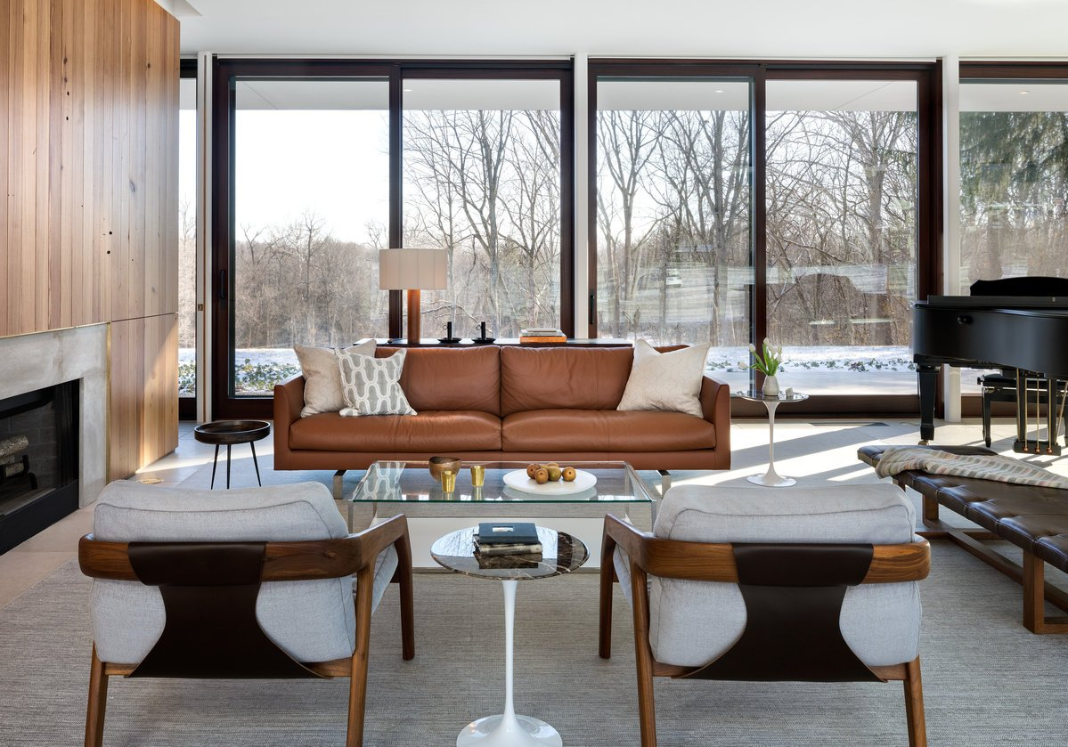 Modernist House North Penn - Living room