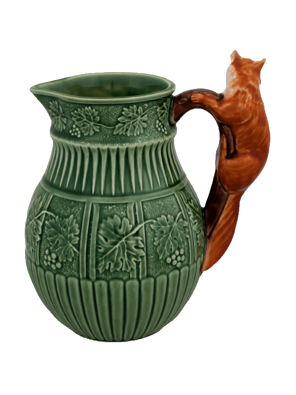 Bordallo Pinheiro Pitcher Fox