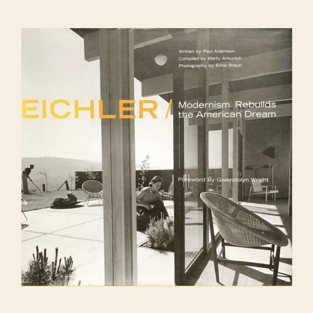 Eichler - Modernism rebuilds - book cover