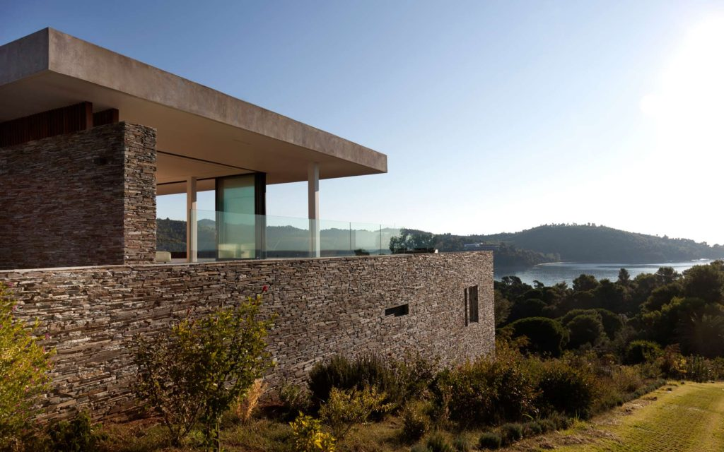Modernist house in Greece - architect K Studio - exterior view