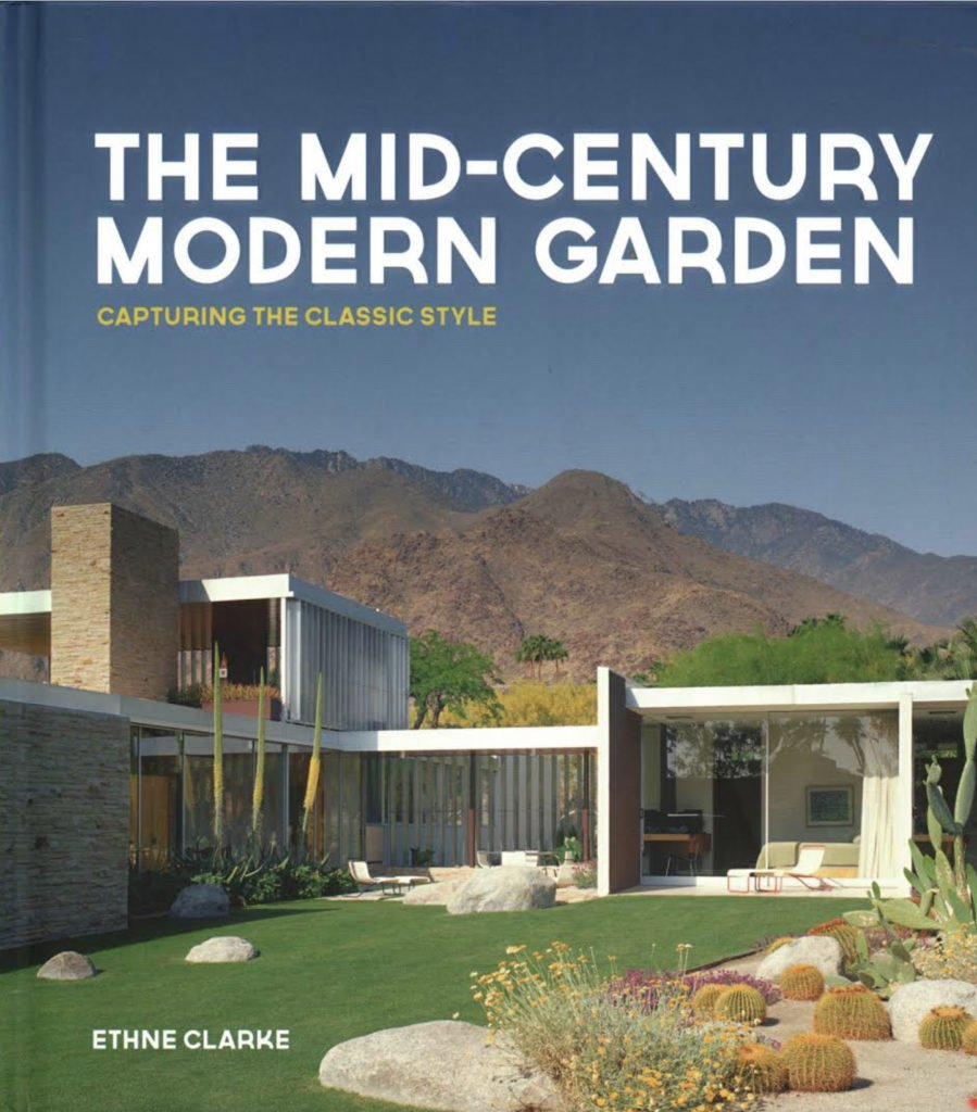 The Mid-century Modern Garden - Ethne Clarke - book cover