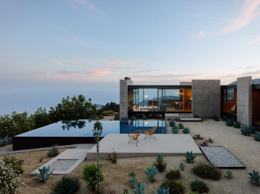 A Modernist Desert House in Santa Monica