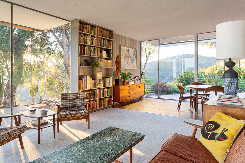 Richard Neutra - Elsa and Robert Sale Residence - Living room