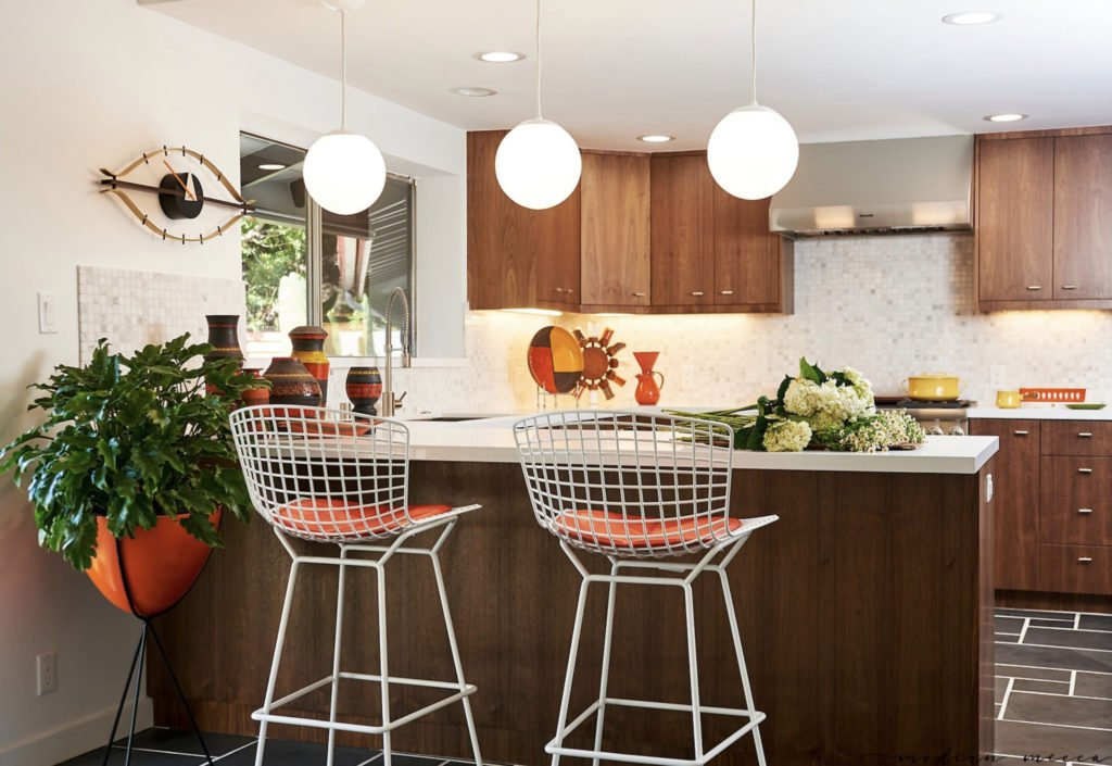 Claudia Andrade San Lucas Midcentury house renovation  - kitchen