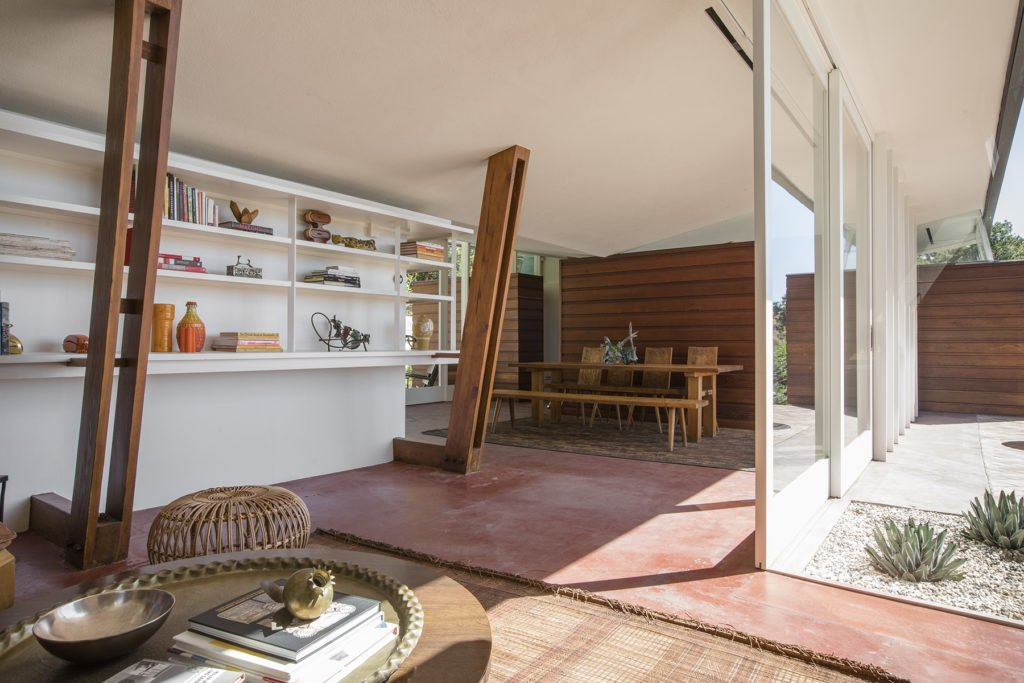 Midcentury home - Echo Park - Los Angeles - dining area