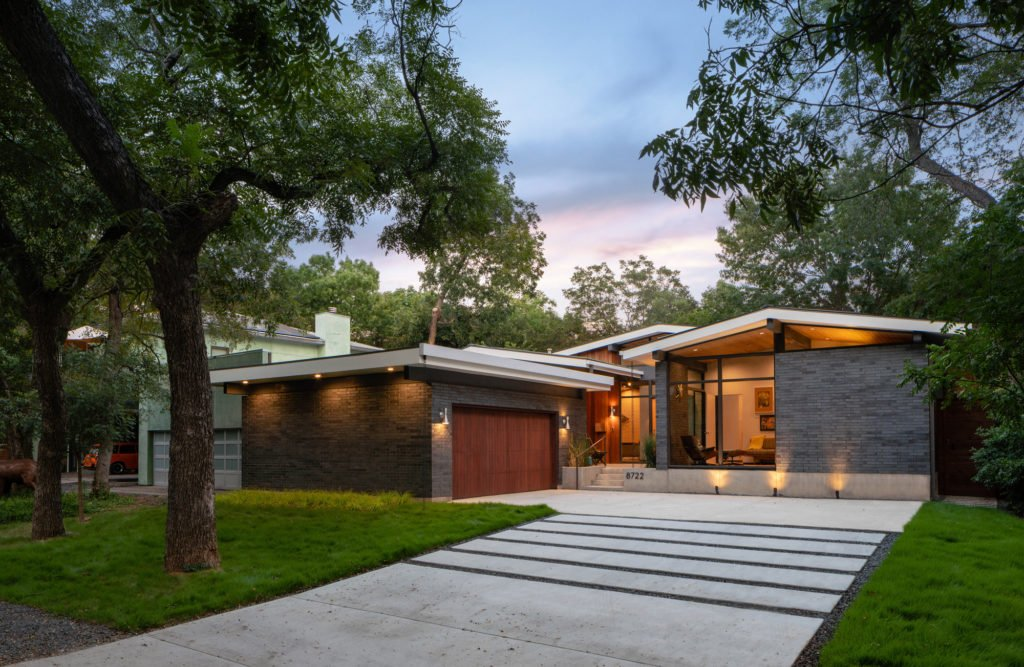 Midcentury Inspired New Built In Forest Hills, Dallas