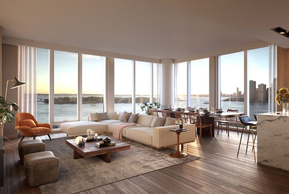Marmol Radziner - Quay tower interiors - living room