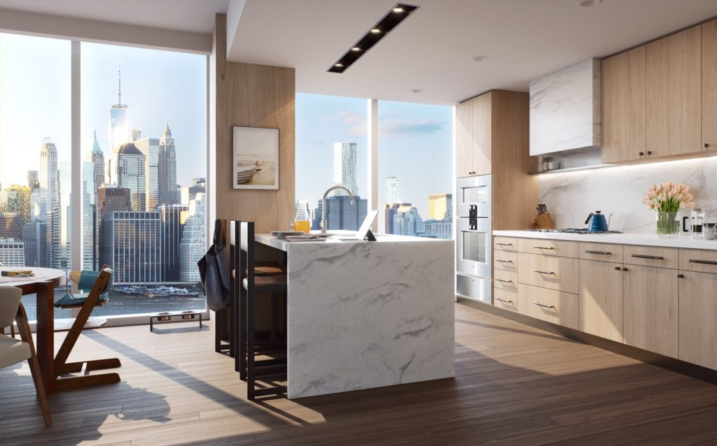 Marmol Radziner - Quay tower interiors - kitchen