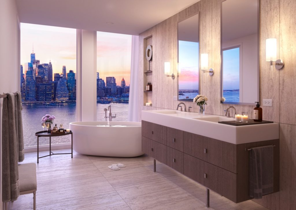 Marmol Radziner - Quay tower interiors - bathroom