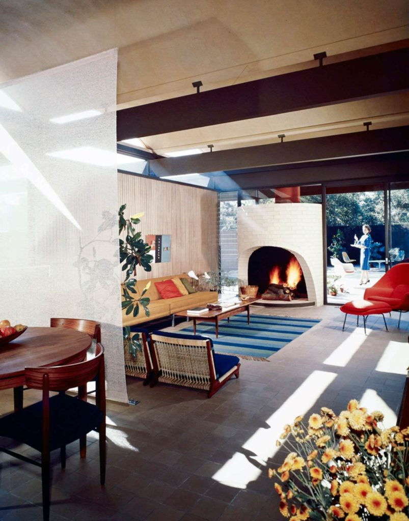 Case Study House #20(B) located in Altadena, California and designed by Buff, Straub, and Hensman in 1958. Photo: Julius Shulman / Getty Archives