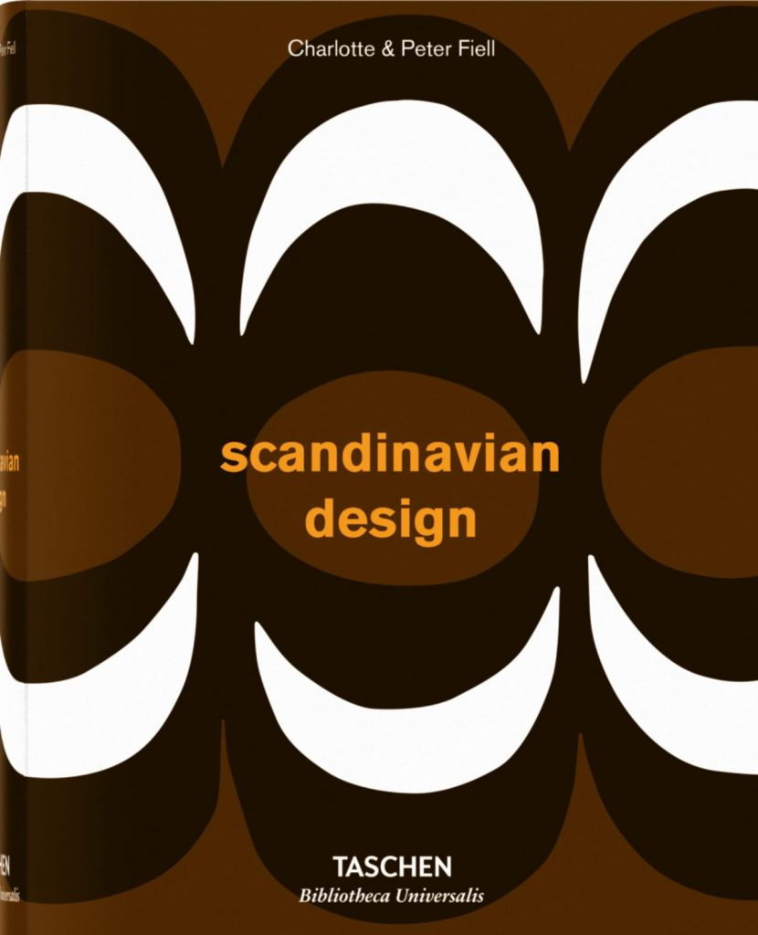 Scandinavian design book cover