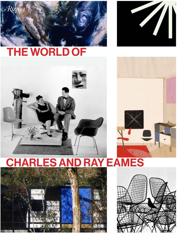 The World of Charles and Ray Eames - book cover