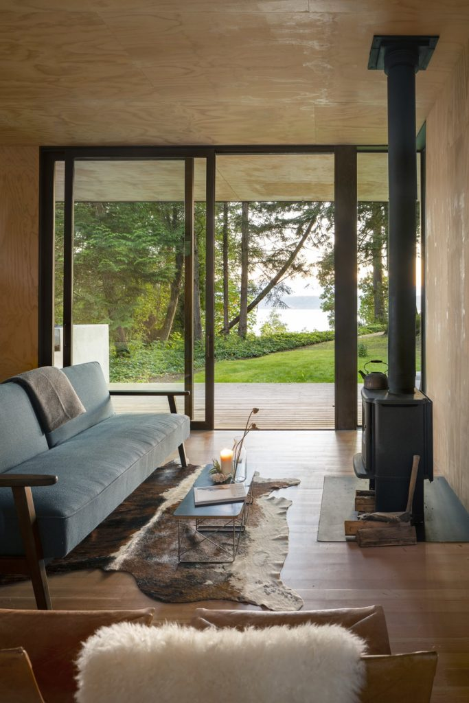 Hood Cliff Retreat - Wittman Estes Architecture - living