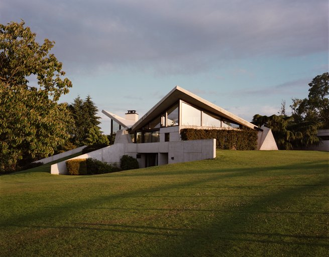 Marcel Breuer Private House in Normandie - exterior