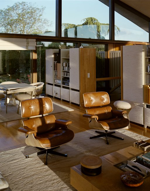 Marcel Breuer  Private House in Normandie - living