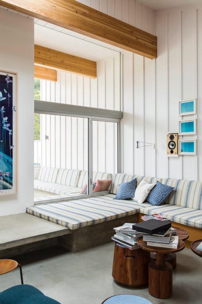 Malibu House - Barbara Bestor - modern midcentury - lounge