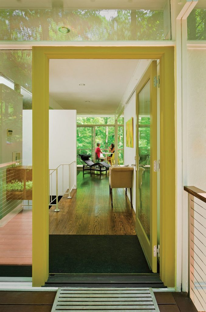 Midcentury home landscape renovation  - interiors