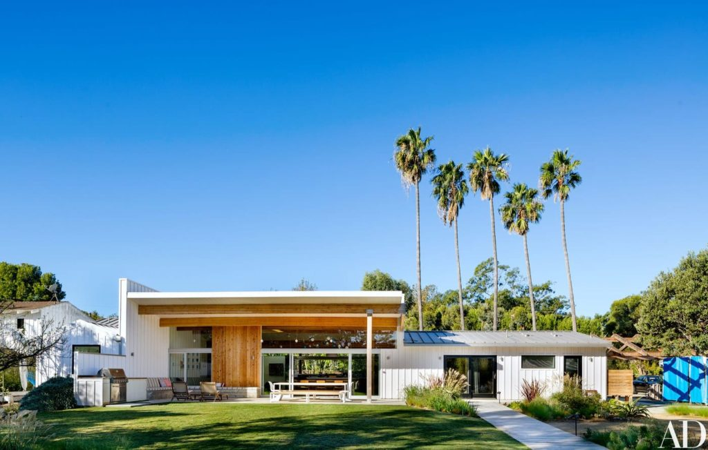 Malibu House - Barbara Bestor - modern midcentury - outside