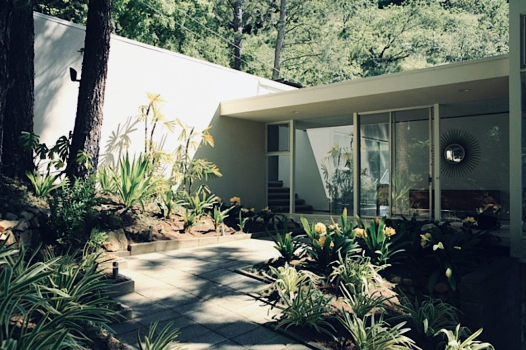 Marvin Taff Midcentury home Los Angeles - exterior