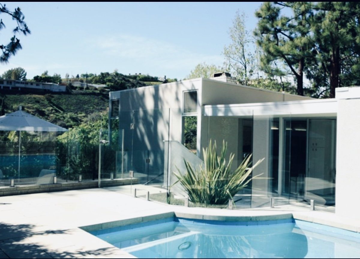 Marvin Taff Midcentury home Los Angeles - pool