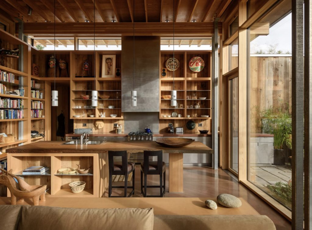 Olson Kundig - Modern City Cabin - Seattle- kitchen