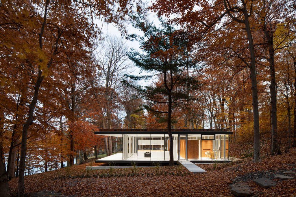 Modernist pavilion - architect Daoust Lestage -  Canada -