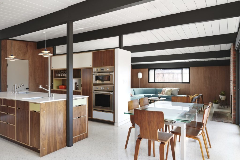 Eichler remodel - California South Bay -