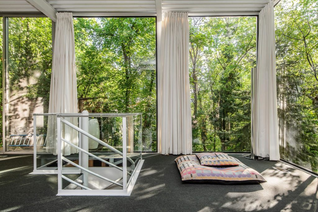 midcentury glass house - salt lake city -