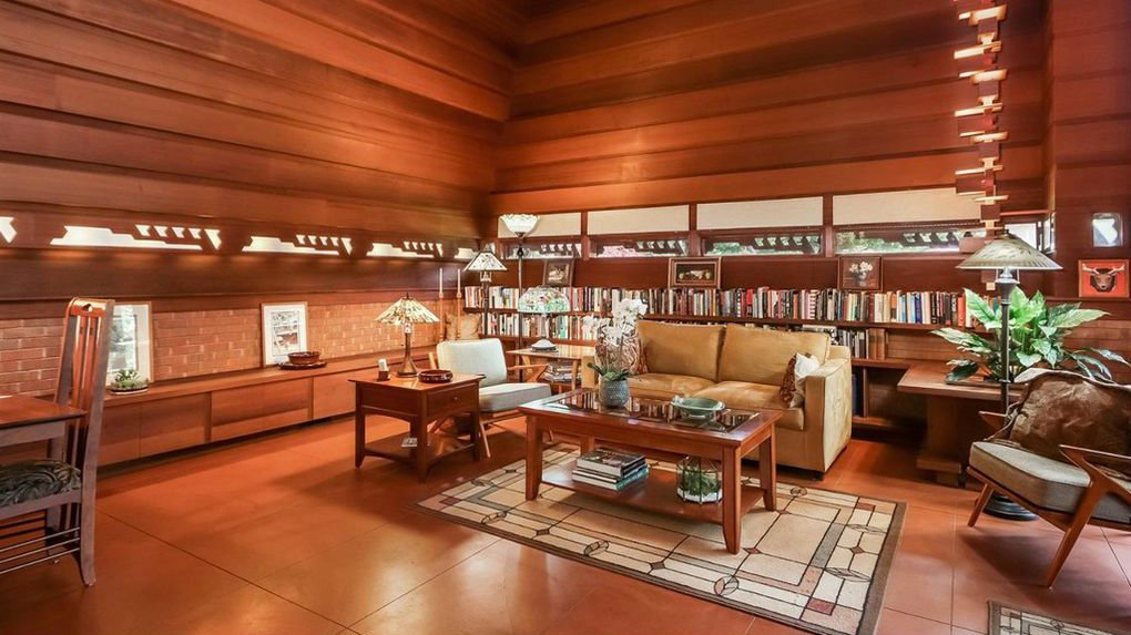 frank lloyd wright house in Ann Arbor -