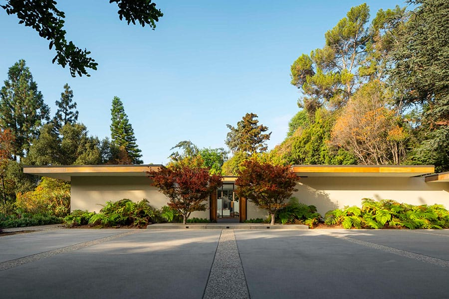 midcentury home in pasadena