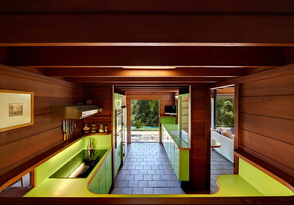 midcentury House by Architect Richard Leplastrier -
