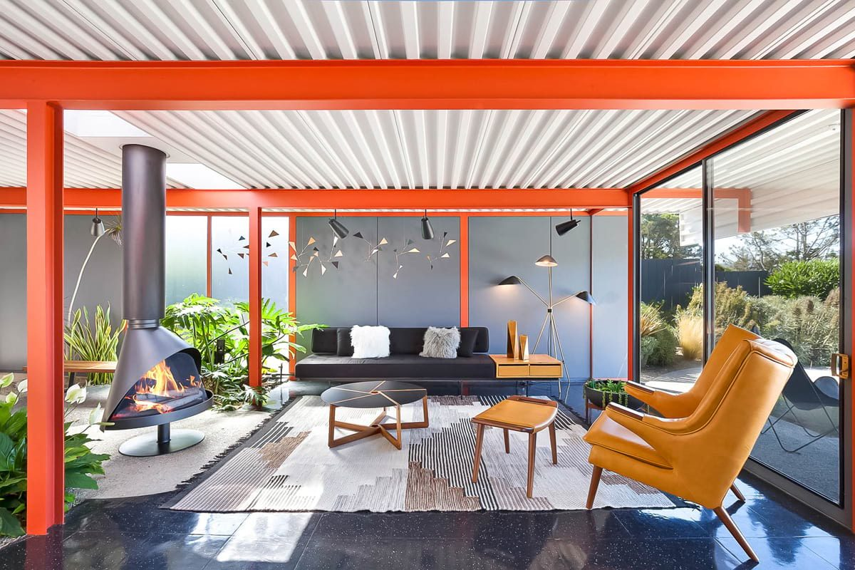 Steel X-100 experimental Eichler renovation