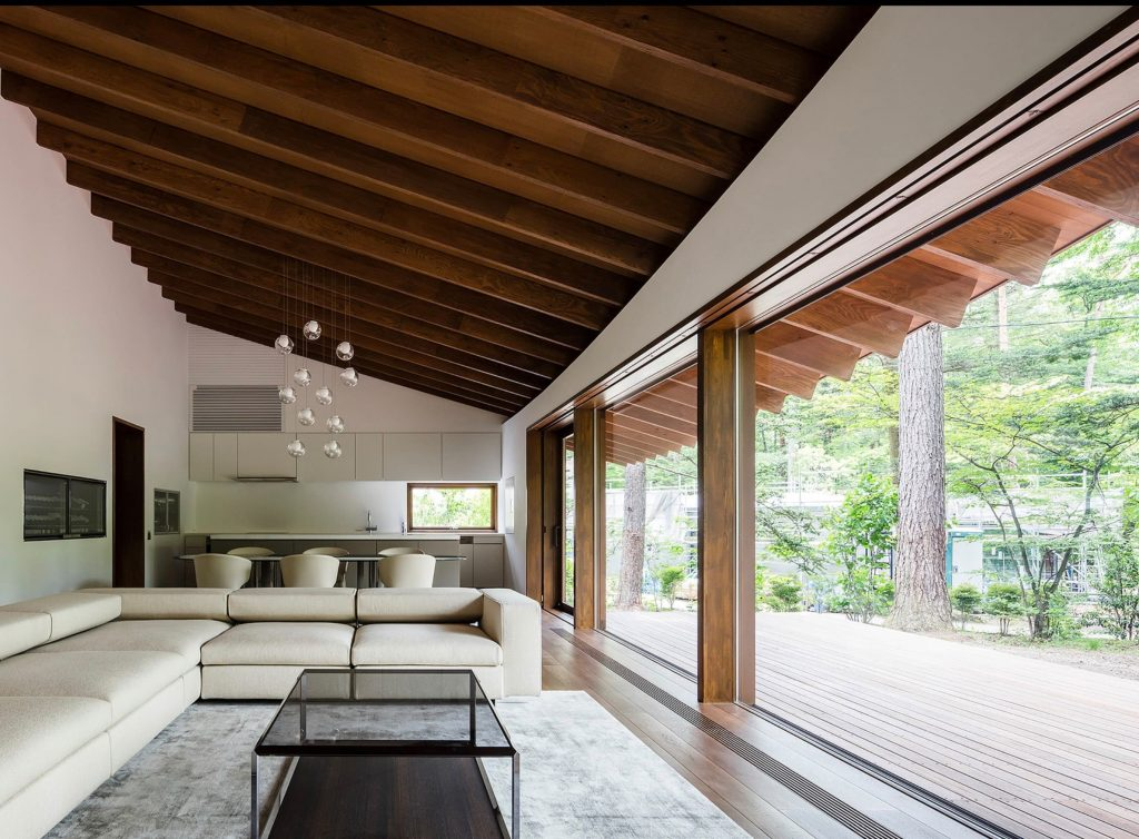 Modernist Weekend Villa in Karuizawa -