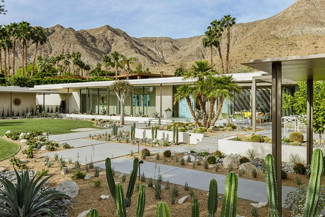 modern meets midcentury  in coachella valley  -